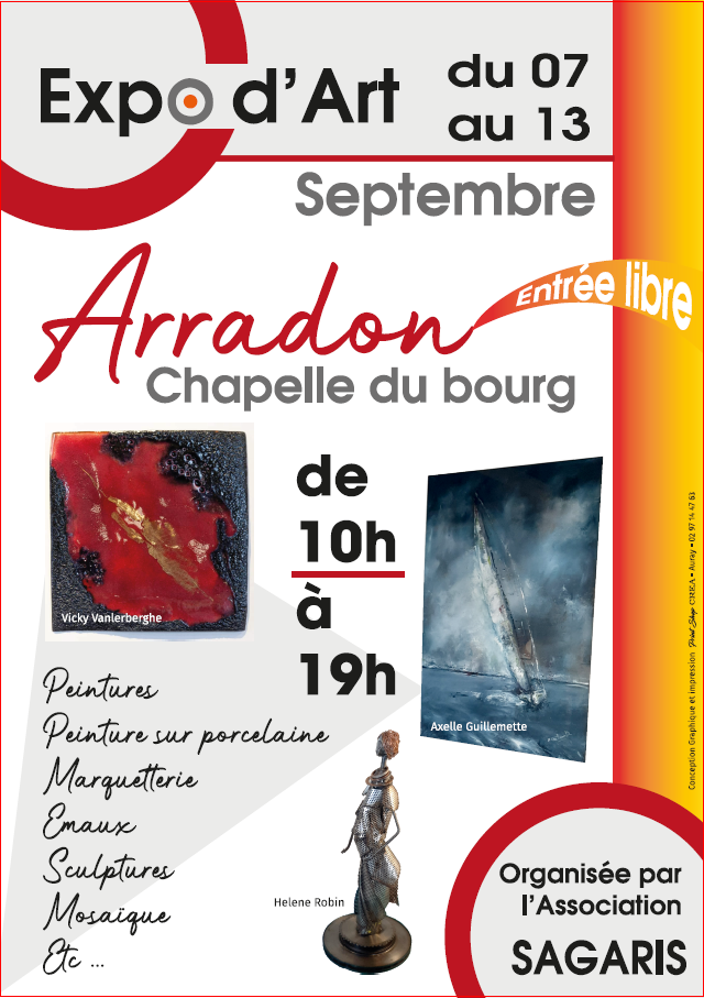 Exposition d'Art à la Chapelle d'Arradon