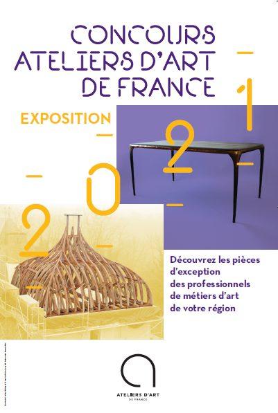 Concours des Ateliers d'Art de France 2021 région Bretagne
